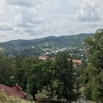 View from the top of the Kalvaria
