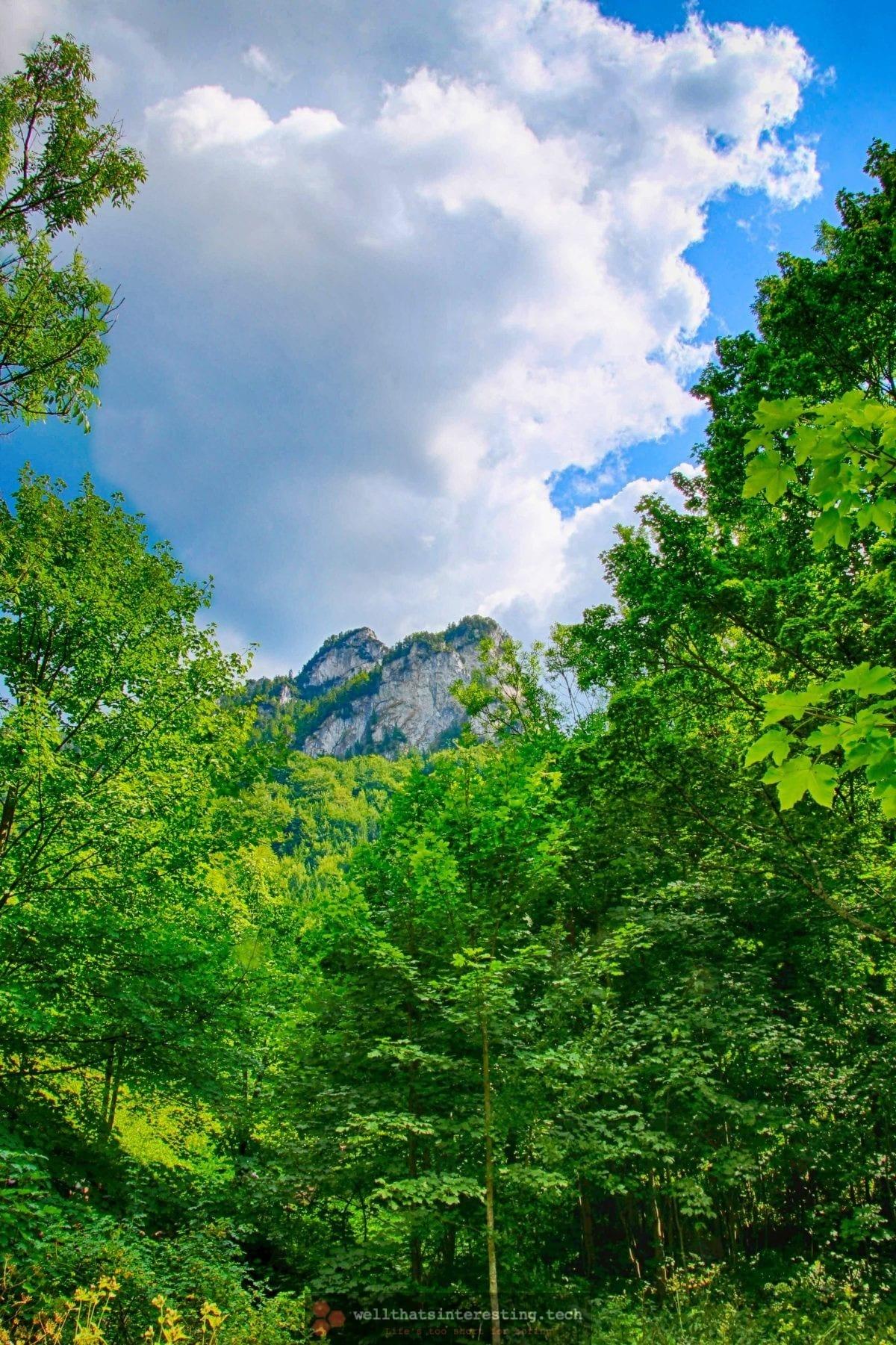 Mo untainted peak at Jánošíkove Diery, Slovakia