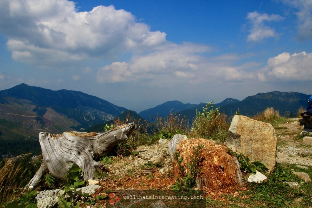 View from Chopok, Slovakia
