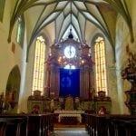 Inside Kostol Sv Katarina, Banska Stiavnica