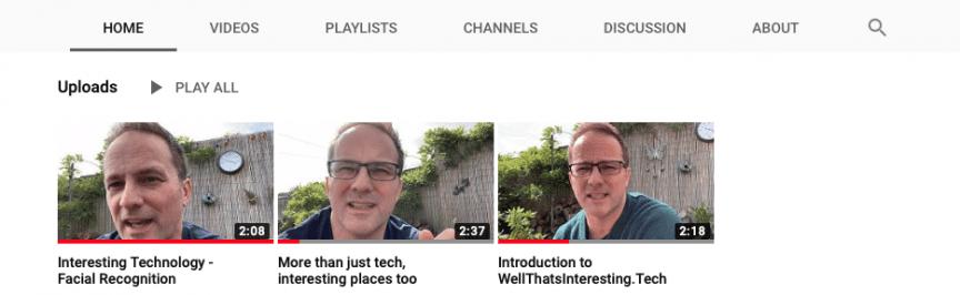 youtube channel for wellthatsinterestingtech
