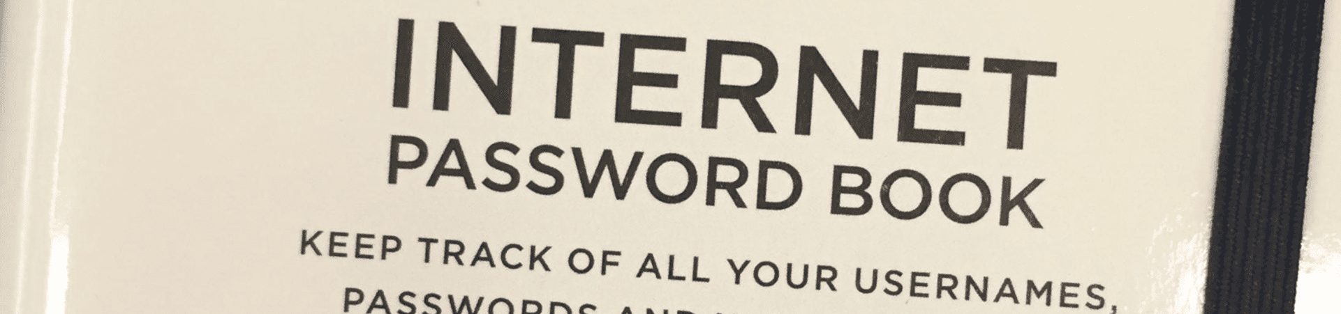 cyber security and internet passwords