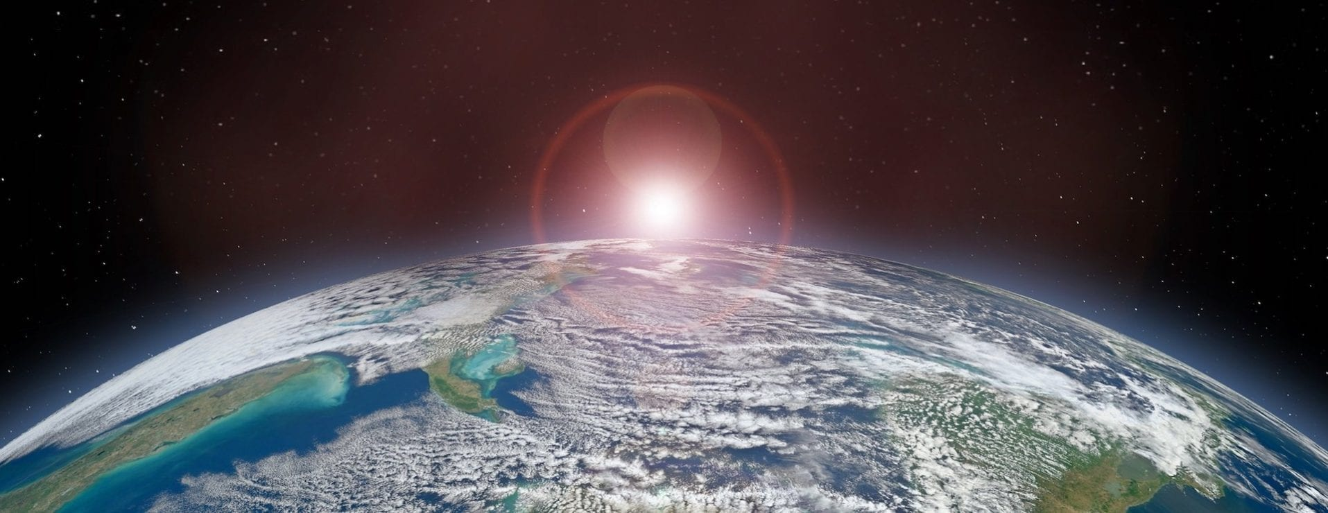 our planet from space sustainability technology