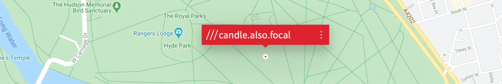 report potholes how to locate - what3words
