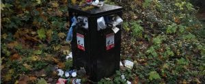 smart city example iot and waste management