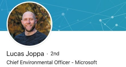 microsoft environment officer (how can I help stop climate change)
