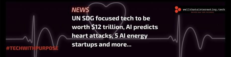 tech for un sdgs market value ai and renewable enery ai predicts heart attacks