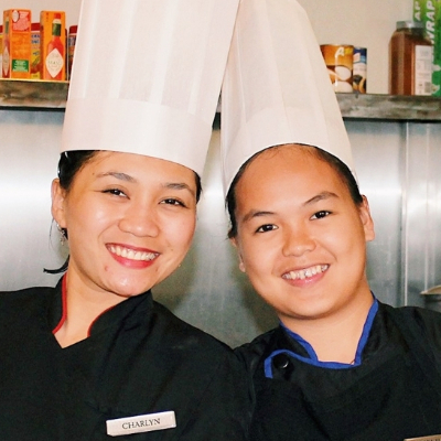 1 day of vocational training for women in the Philippines.